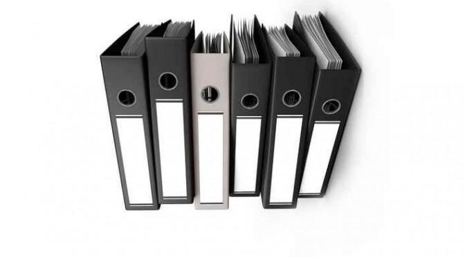 organización de documentos en la coordinación de actividades empresariales