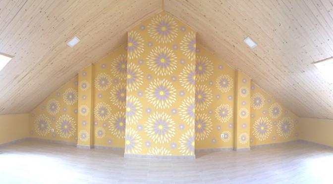 Plantillas para pared, interiorismo DIY