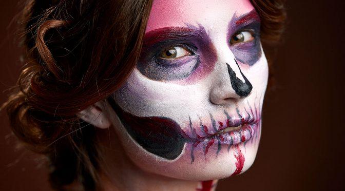 Maquillaje de ojos fantasía para Halloween