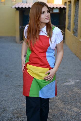 uniformes de educadores multicolor de Theresia